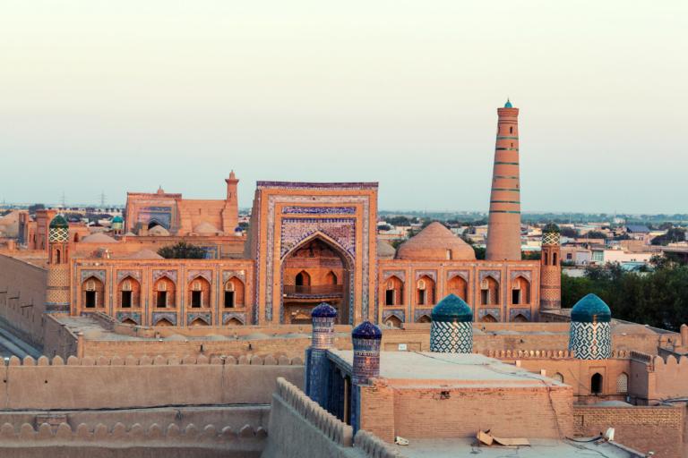 Panoramica de Khiva