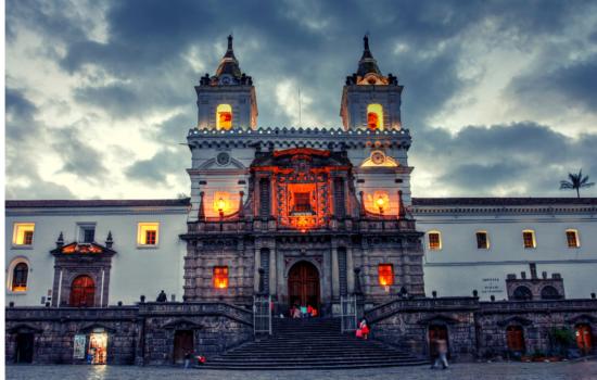 Las iglesias de Quito